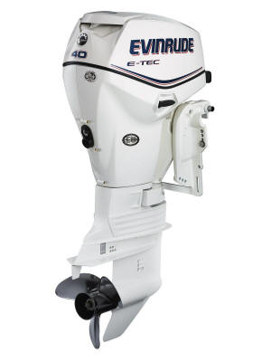 Arneys marina evinrude e tec for 40 hp evinrude outboard motor for sale