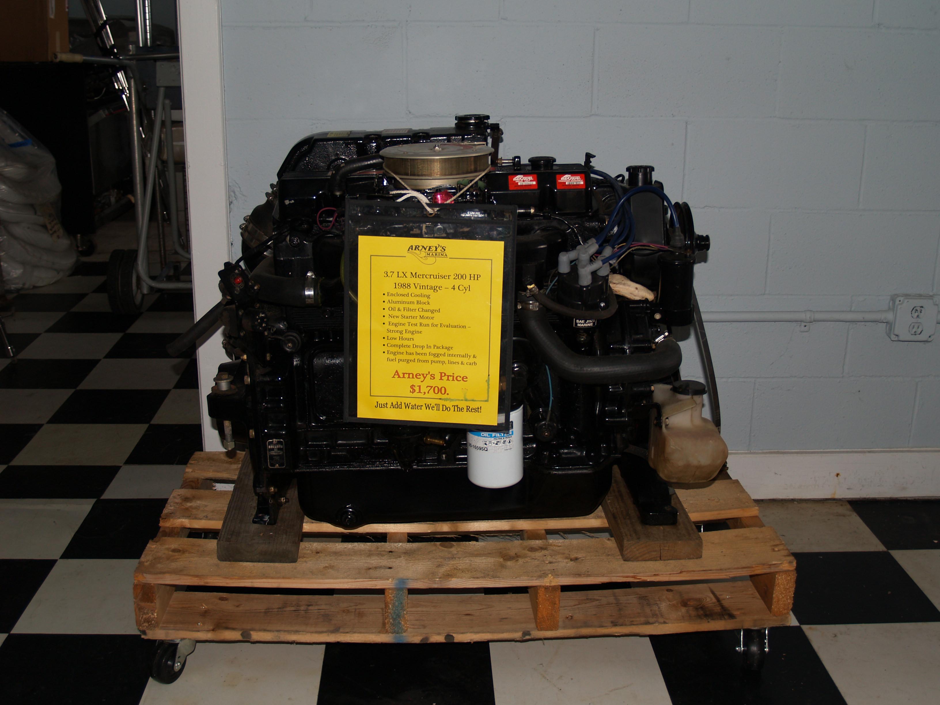 Arneys Marina » Outboard Trade Ins & I/O Engines & Stern Drives