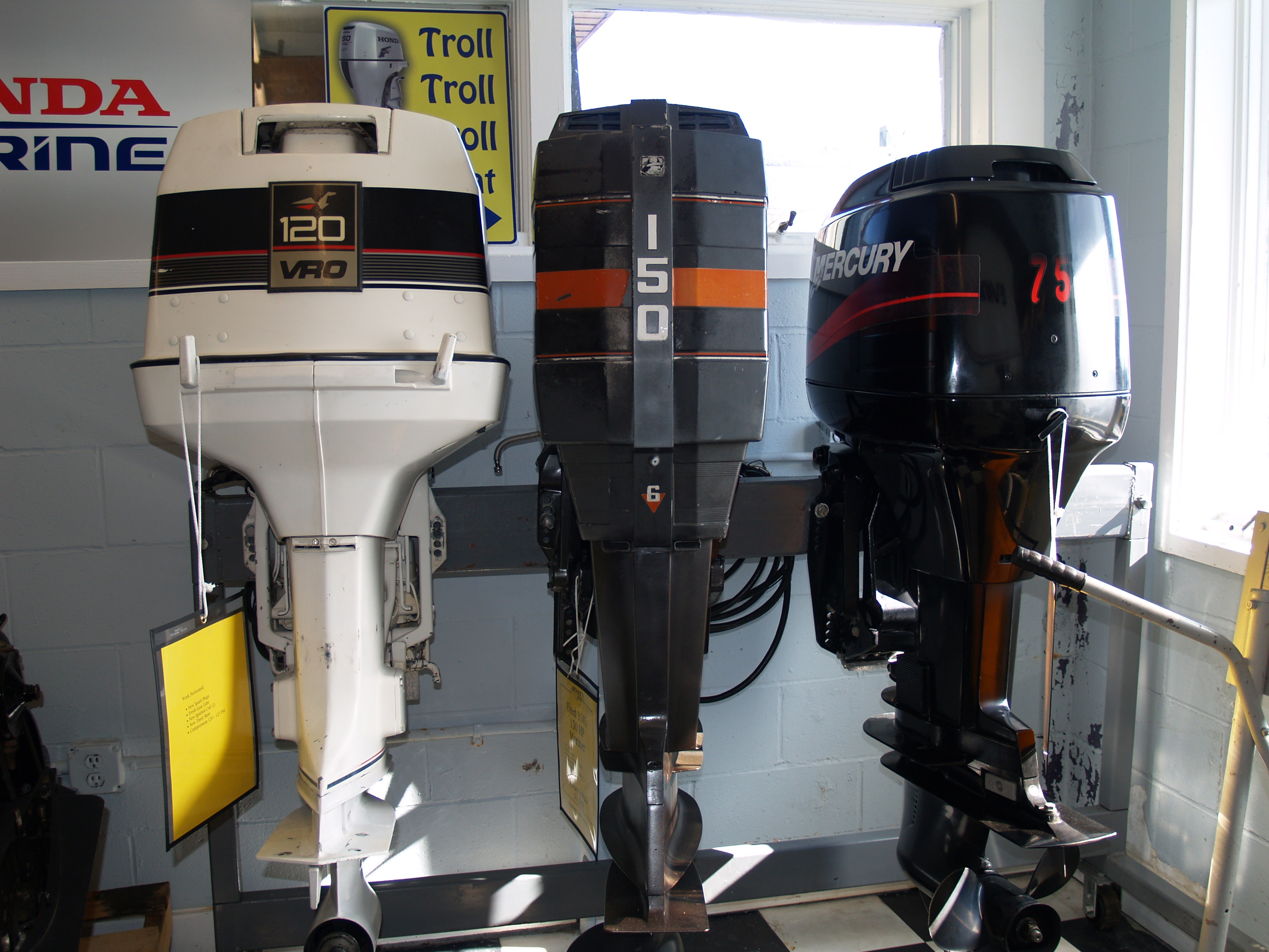 Arneys Marina » Outboard Trade Ins & I/O Engines & Stern Drives